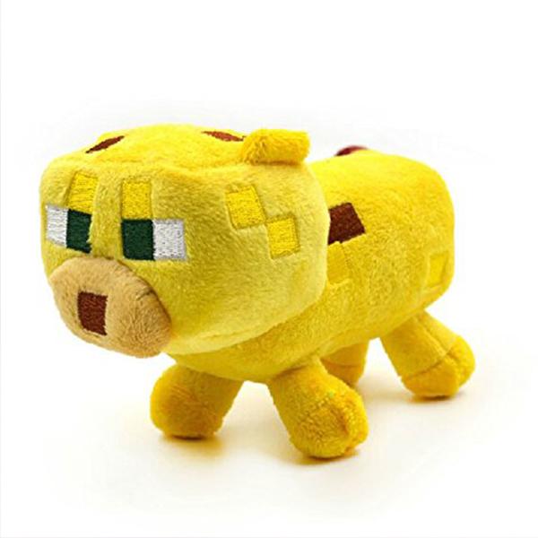 Λούτρινο Κουκλάκι Baby Ocelot Minecraft