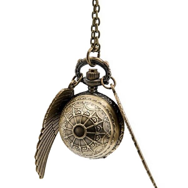 Χρυσό μενταγιόν Snitch - Harry Potter