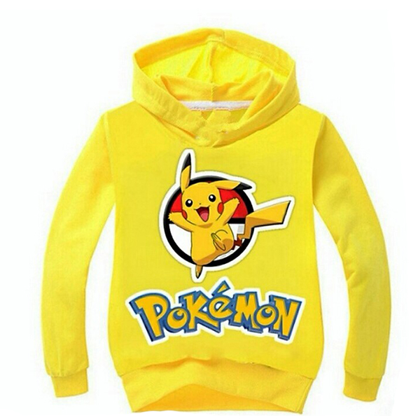Φούτερ Κίτρινο - Pokemon