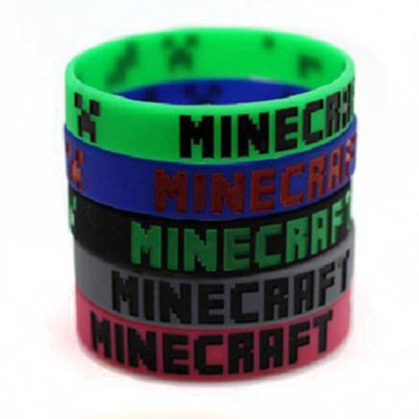 Βραχιόλι Σιλικόνης Minecraft