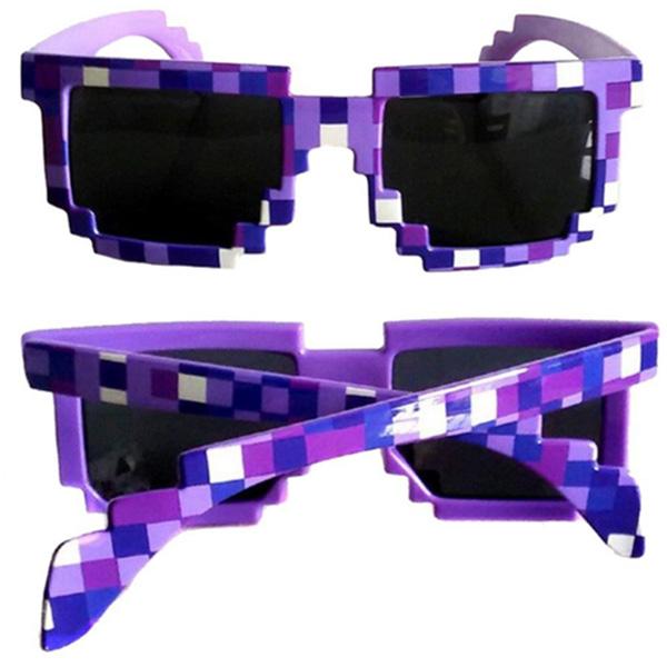 Minecraft - Γυαλιά Ηλίου Μωβ