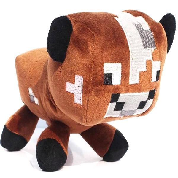 Λούτρινο Κουκλάκι Cow Minecraft