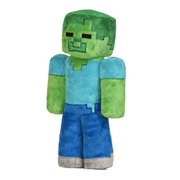 Λούτρινο Κουκλάκι Zombie Minecraft