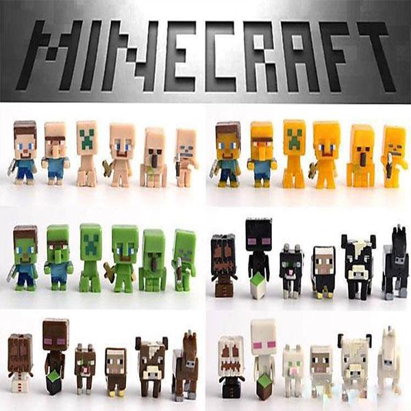 Μίνι Φιγούρες Σετ Minecraft