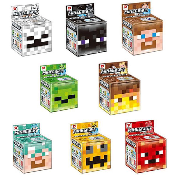 Μίνι Crystal Φιγούρα - Minecraft