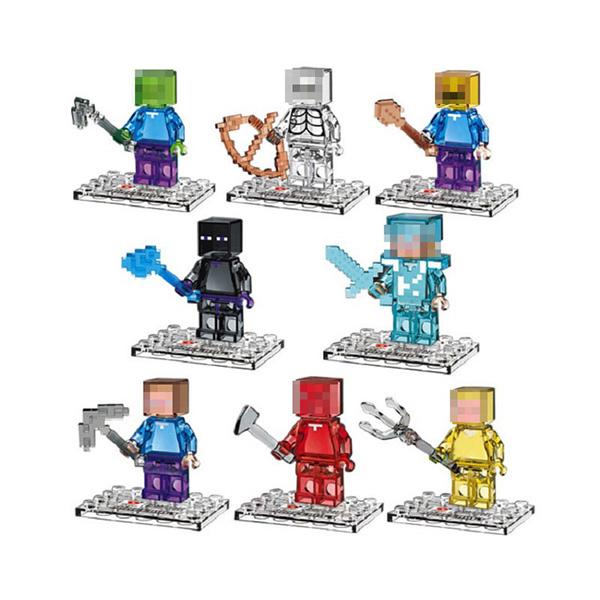 Minecraft - Φιγούρα Μίνι Crystal
