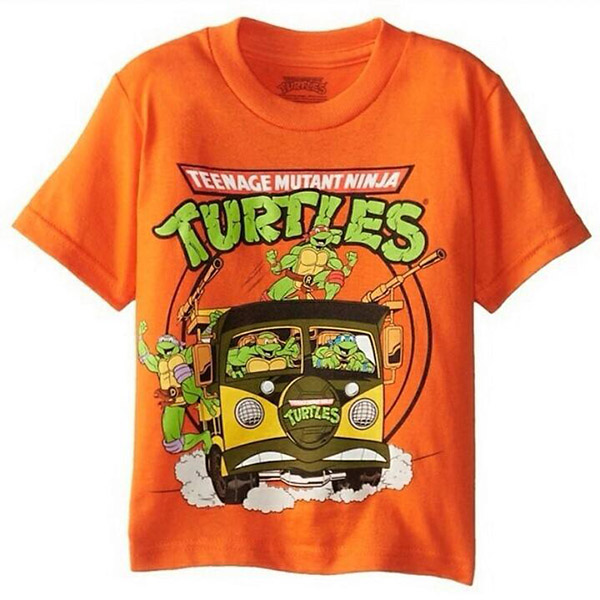Teenage Mutant Ninja Turtles - T-shirt Πορτοκαλί