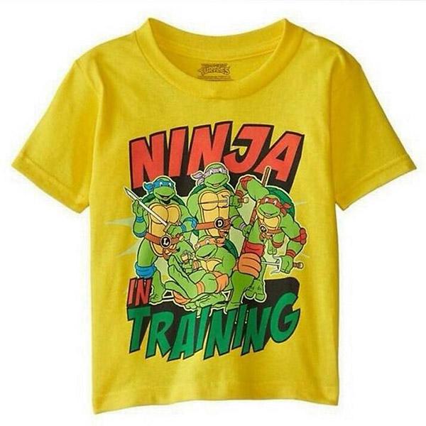 T-shirt Κίτρινο