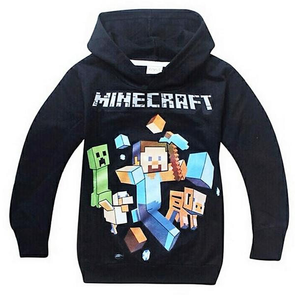 Φούτερ Μαύρο - Minecraft